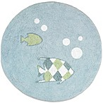 Sweet Jojo Designs Go Fish Accent Floor Rug