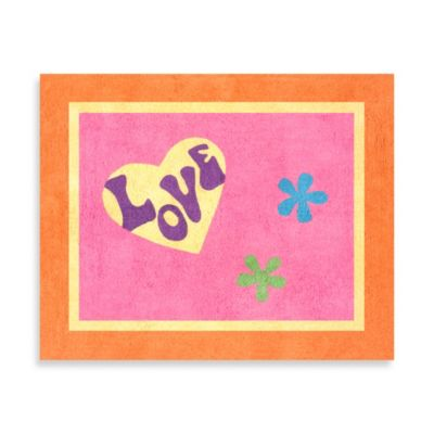 Sweet Jojo Designs Groovy Accent Floor Rug