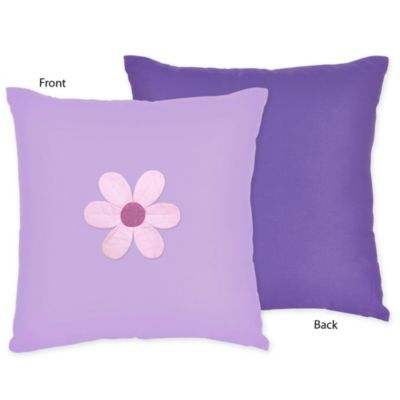 Sweet Jojo Designs Danielle's Daisies Decorative Throw Pillow