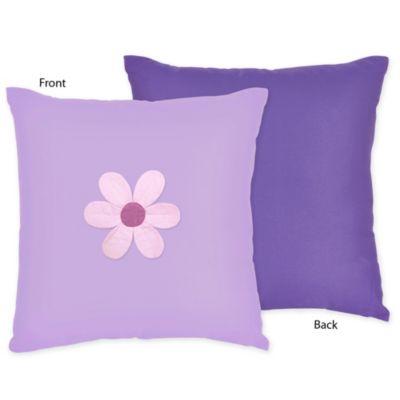Sweet Jojo Designs Danielle's Daisies Decorative Toss Pillow