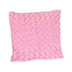 Sweet Jojo Designs Madison Decorative Accent Toss Pillow in Minky Swirl