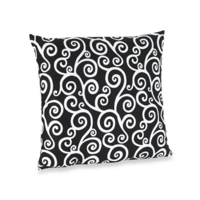 Sweet Jojo Designs Madison Decorative Accent Throw Pillow in Scroll Print