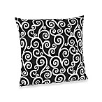 Sweet Jojo Designs Madison Decorative Accent Toss Pillow in Scroll Print