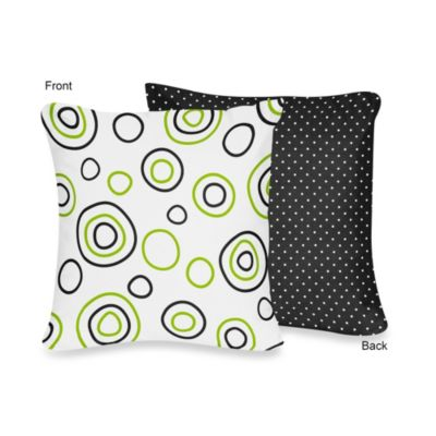 Lime/Black Baby Bedding