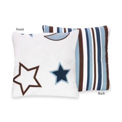 Sweet Jojo Designs Starry Night Decorative Pillow