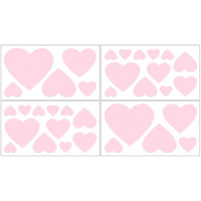 Pink Baby Wall Decals