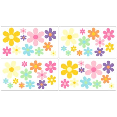 Sweet Jojo Designs Danielle's Daisies Wall Decals