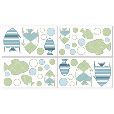 Sweet Jojo Designs Go Fish Wall Decals