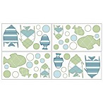 Sweet Jojo Designs Go Fish Wall Decals (Set of 4)
