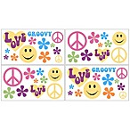 Sweet Jojo Designs Groovy Wall Decals (Set of 4)