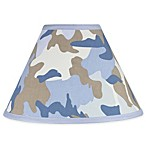 Sweet Jojo Designs Camo Lamp Shade in Blue