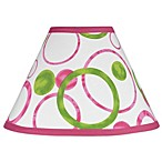 Sweet Jojo Designs Mod Circles Lamp Shade in Pink/Green