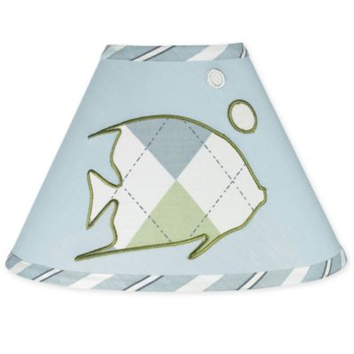 Sweet Jojo Designs Go Fish Dreams Lamp Shade