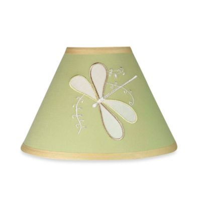 Sweet Jojo Designs Dragonfly Dreams Lamp Shade in Green