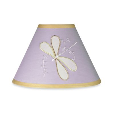 Sweet Jojo Designs Dragonfly Dreams Lamp Shade in Purple