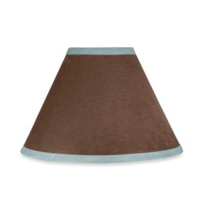 Sweet Jojo Designs Soho Lamp Shade in Blue/Brown