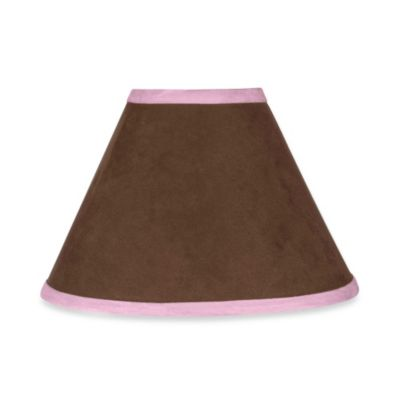 Sweet Jojo Designs Soho Lamp Shade in Pink/Brown