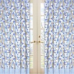 Sweet Jojo Designs Camo 42-Inch x 84-Inch Window Panels in Blue