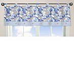 Sweet Jojo Designs Camo Window Valance in Blue