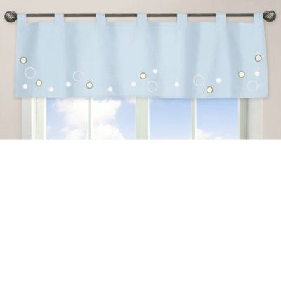 Sweet Jojo Go Fish Dreams Window Valance