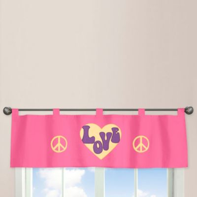 Sweet Jojo Groovy Dreams Window Valance