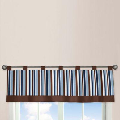 Sweet Jojo Designs Starry Night 54-Inch x 15-Inch Window Valance