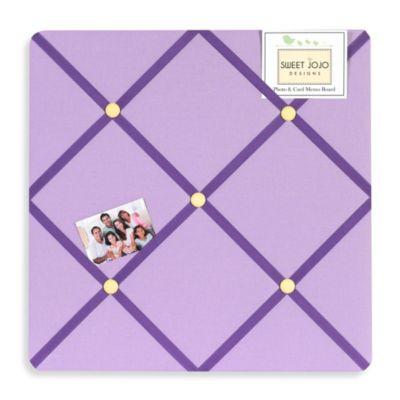 Sweet Jojo Designs Danielle's Daisies Fabric Memo Board