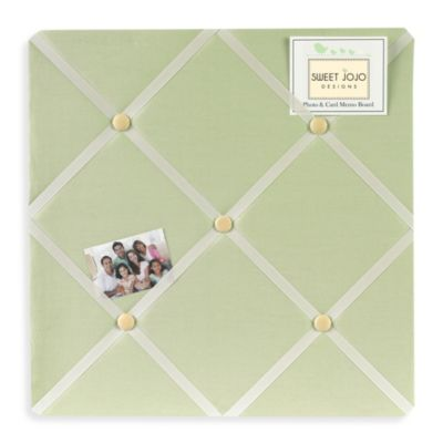 Sweet Jojo Designs Dragonfly Dreams Memo Board in Green