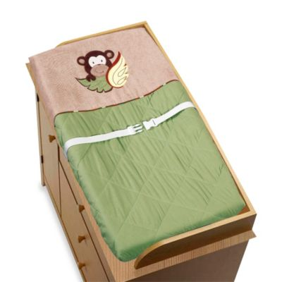 Multi Brown Changing Pad
