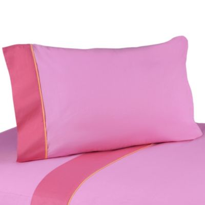 Sweet Jojo Designs Butterfly Twin Sheet Set