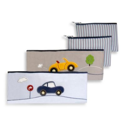 New Country Home Laugh Giggle & Smile My Little Town 4-Piece Bumper Pad Set