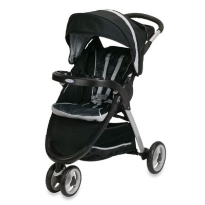 Full Size Strollers > Graco® FastAction™ Fold Sport Click Connect™ Stroller in Gotham™