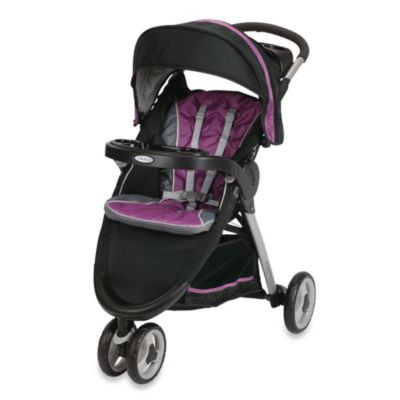 Full Size Strollers > Graco® FastAction™ Fold Sport Click Connect™ Stroller in Nyssa™