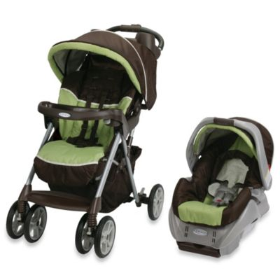 Graco® Alano™ Classic Connect™ Travel System in Go Green™
