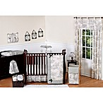 Sweet Jojo Designs French Toile Crib 11-Piece Bedding Set in Black/Cream