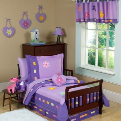 Sweet Jojo Designs Danielle's Daisies 5-Piece Toddler Bedding Set