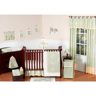 Sweet Jojo Designs Dragonfly Dreams 11-Piece Crib Bedding Set in Green