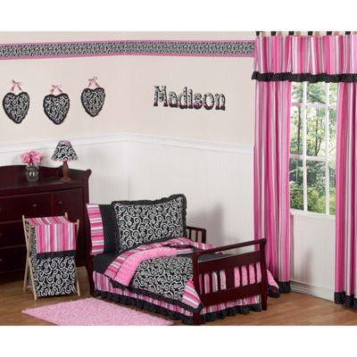Sweet Jojo Designs 5-Piece Madison Toddler Bedding Set