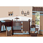 Sweet Jojo Designs Soho 11-Piece Crib Bedding Set in Blue/Brown