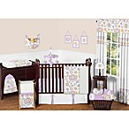 Sweet Jojo Designs Suzanna 11-Piece Crib Bedding Set in Lavender/White