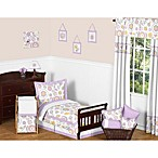 Sweet Jojo Designs Suzanna 5-Piece Toddler Bedding Set in Lavender/White