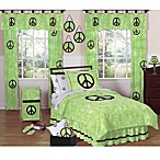 Sweet Jojo Designs Peace Out Bedding Collection in Green