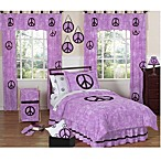 Sweet Jojo Designs Peace Out Bedding Collection in Purple