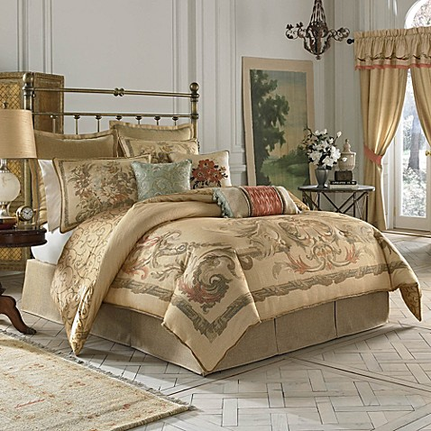 Croscill Normandy Reversible Comforter Set Bed Bath