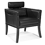 Moe's Home Collection Derby Club Chair in Black