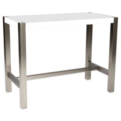 Moe's Home Collection Riva Counter Table in White