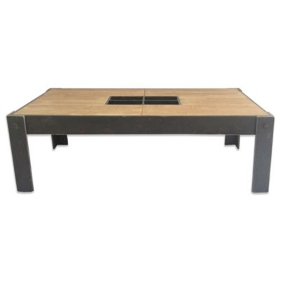 Moe's Home Collection Bolt Rectangular Coffee Table in Natural Finish