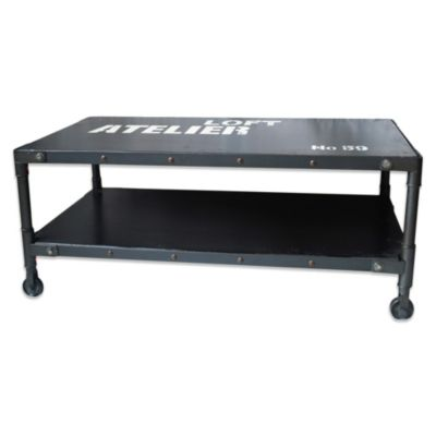 Moe's Home Soho Coffee Table in Black