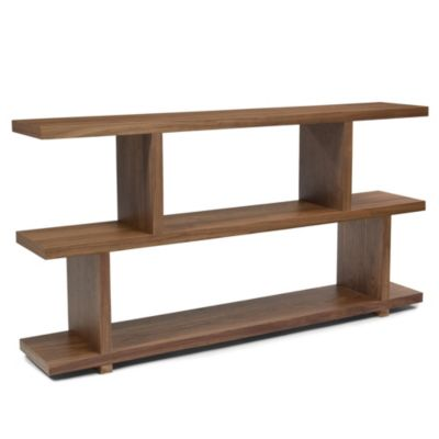 Moe's Home Collection Small Miri Shelf in Walnut