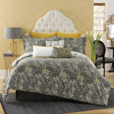 Twin Black Comforter Set